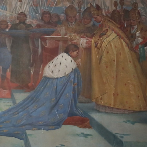 La Pasión de Santa Juana de Arco - Coronación del rey