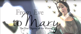 from eve to mary